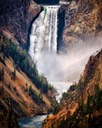 Yellowstone Falls, by Cheri Halstead